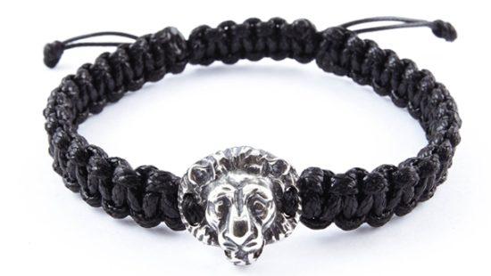 Гривна Шамбала със сребърен лъв