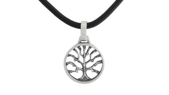Сребърен медальон дървото на живота